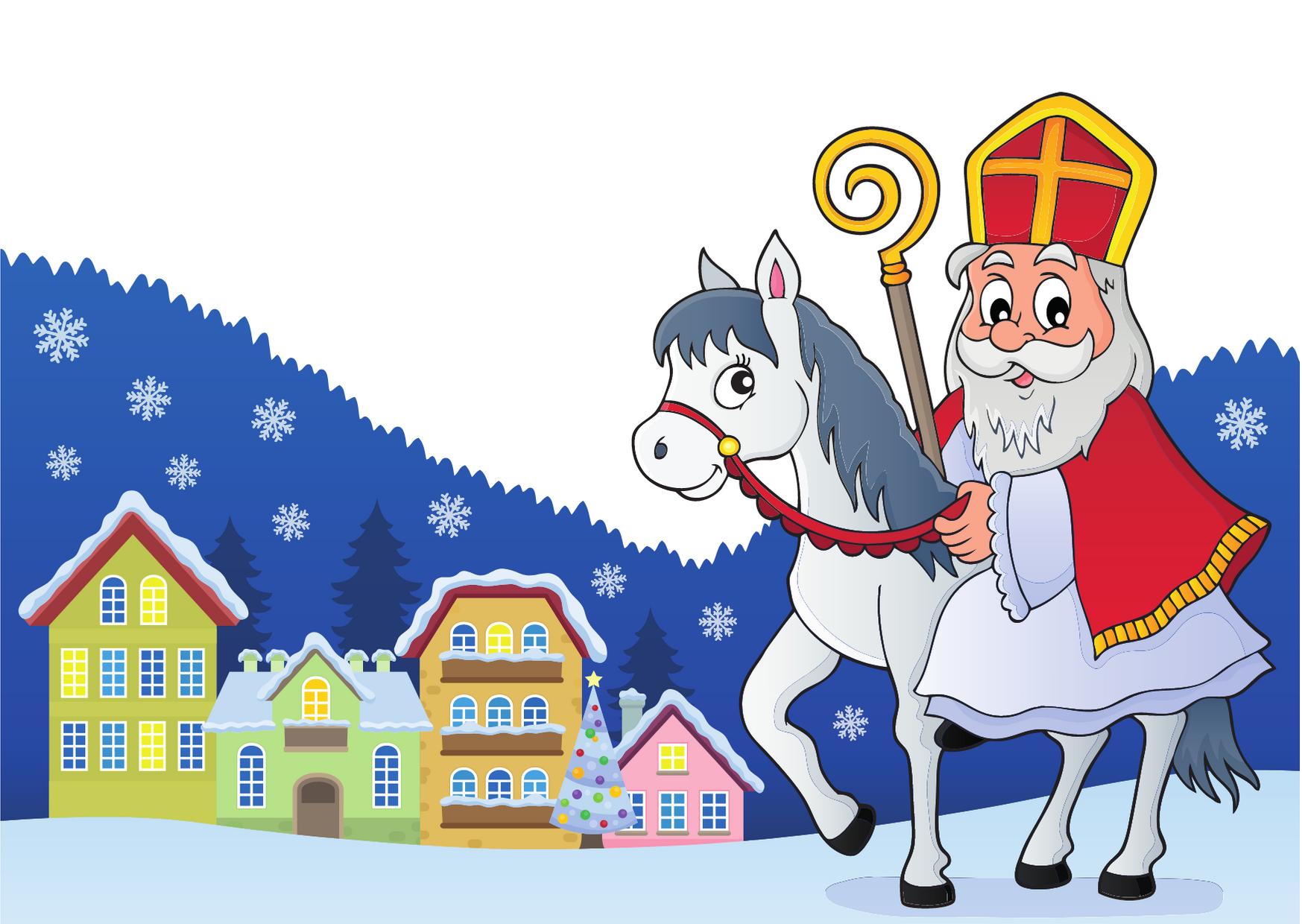 Sinterklaas daagt jullie uit...